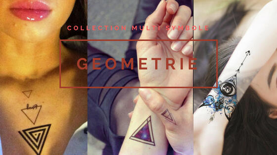 tattoo temporaire triangle