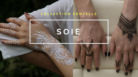 tatouage provisoire dentelle henna