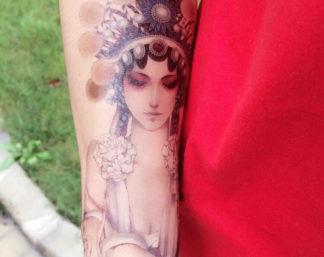 Tatouage temporaire bouddha femme