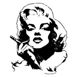 Tatouage ephemere Marilyne Monroe