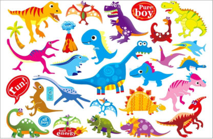 Tatouage ephemere dinosaure Enfant