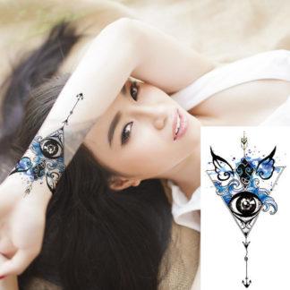 Faux tatouage Eye and water