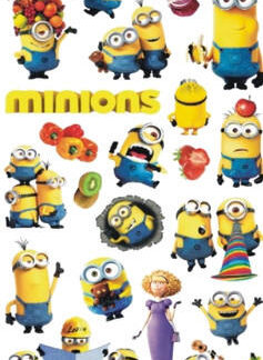 "Tattoo minions ""Moi moche et mechant"""