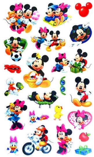 Tatouage ephemere Mickey et ses loisirs