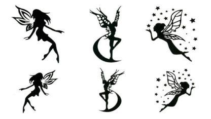 Tatouage ephemere fée magical