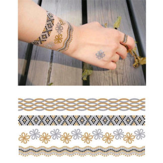 Tattoo bracelets type serpent