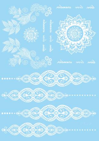 Tattoo Henna mandala