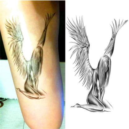 Tatouage temporaire Ange de beauté