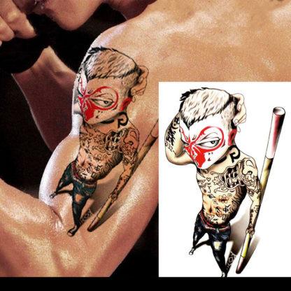 Tatouage artificiel marabou man