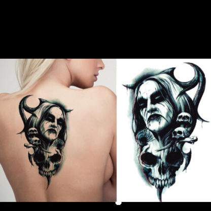 tatouage changeable Evil strong