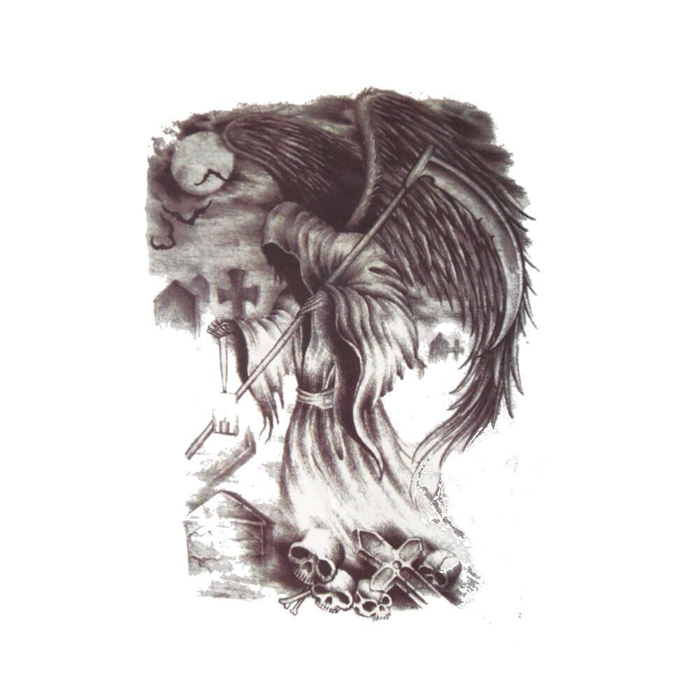 Ange Gardien Protecteur Tatouage faux tatouage ange diabolique