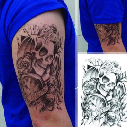Tattoo tete de mort Games Old school