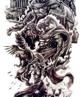 Tattoo sanctuaire des legendes