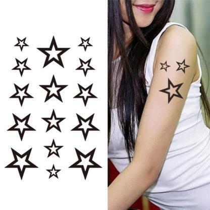 Tattoo etoiles vide