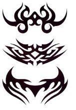 Tatouage provisoire Tribal royal