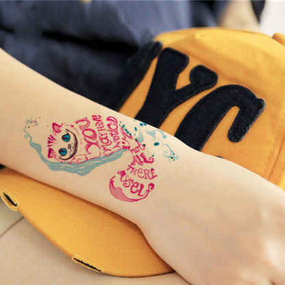 Tattoo chat message
