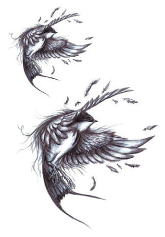 Tattoo vol oiseau