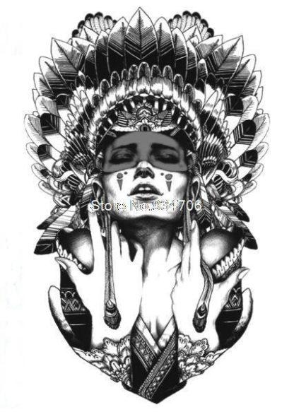 Tattoo indienne