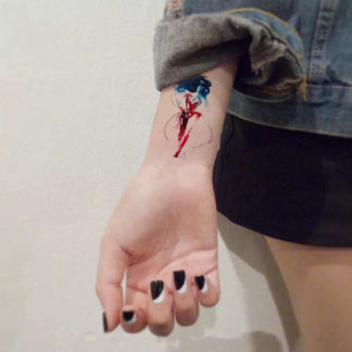 Tattoo super hero