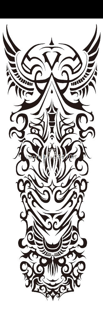 Tatouage ephemere tribal Maori