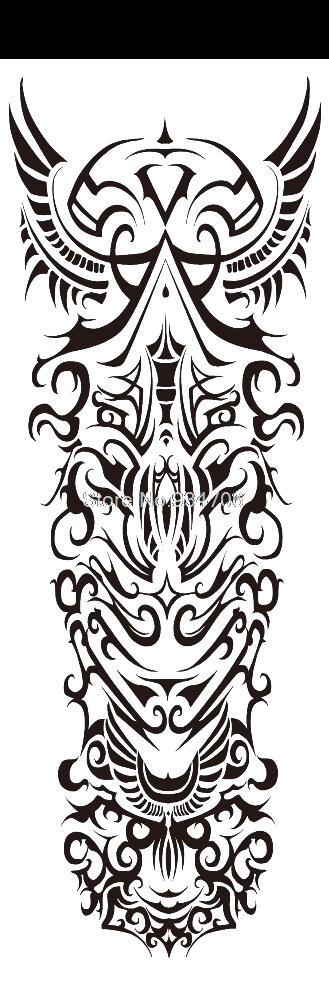Tatouage ephemere tribal Maori