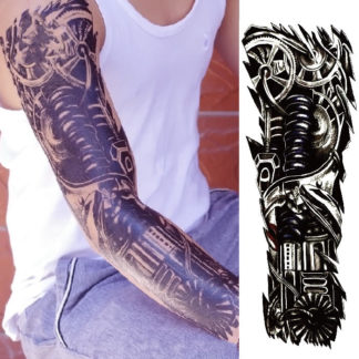 Faux tatouage biomecanique