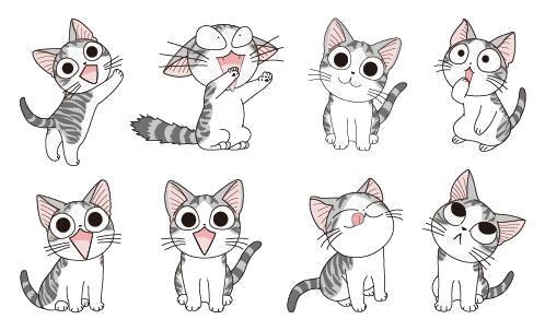 tatouage temporaire chat rigolo - kolawi
