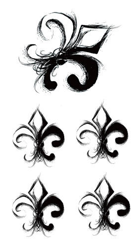 Tatouage temporaire trefle emblematique
