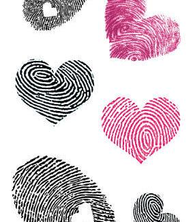 Tatouage ephemere empreinte coeur