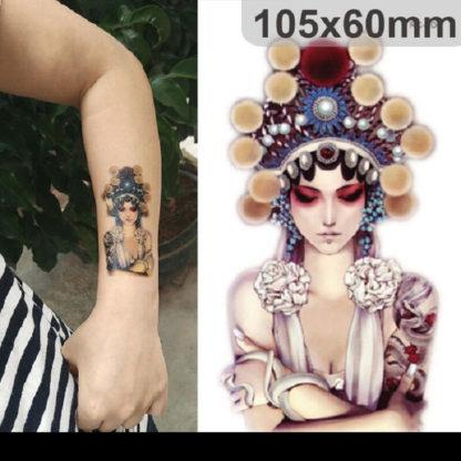 Faux tatouage Bouddha