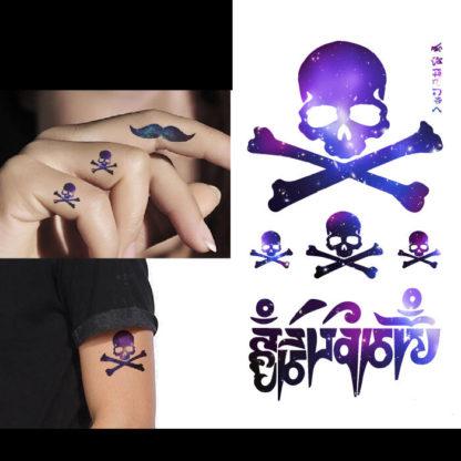 Tattoo tetes de mort Light