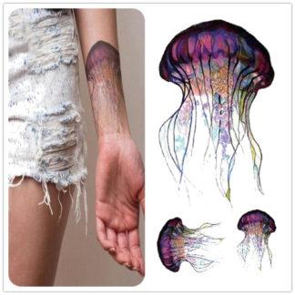 Tattoo meduse