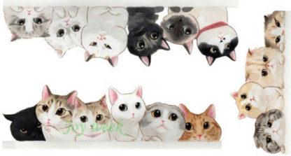 Tattoo chatons en bord