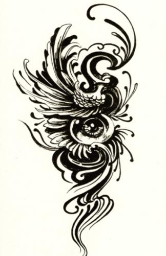 tatouage éphémère tribal Mystery