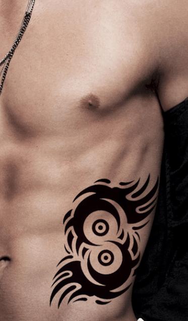 Tatouage provisoire tribal eyes