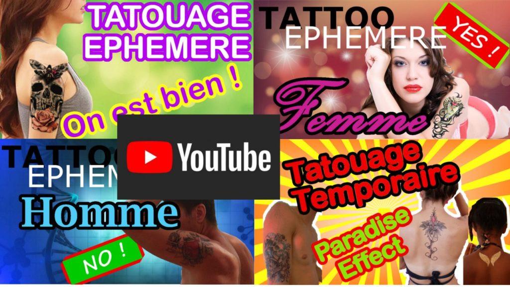tatouage éphémère kolawi youtube